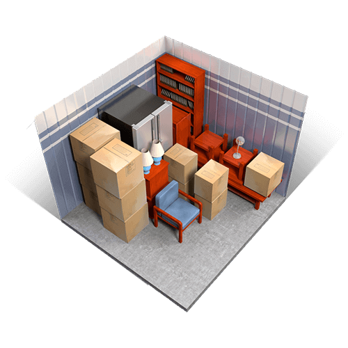 What fits inside a 10x10 unit